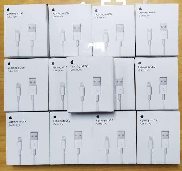 Cable Usb iPhone Originales de 2 Metros