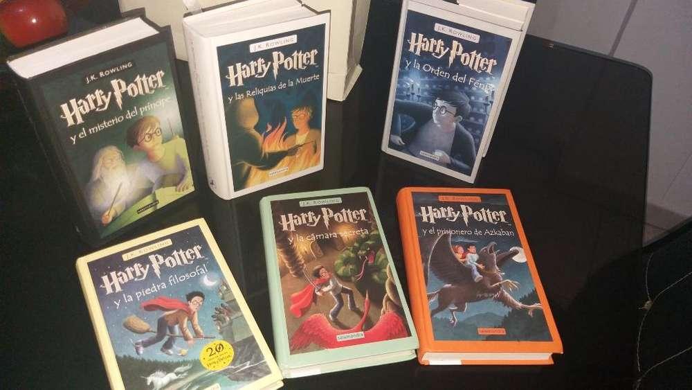 Libros Harry Potter Coleccion Completa