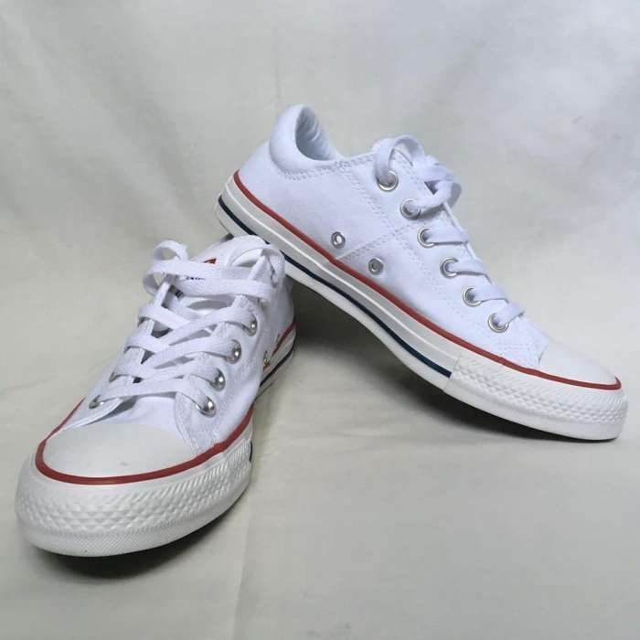 eed4a1f87 Zapatillas Converse Blancas Nuevas Mujer