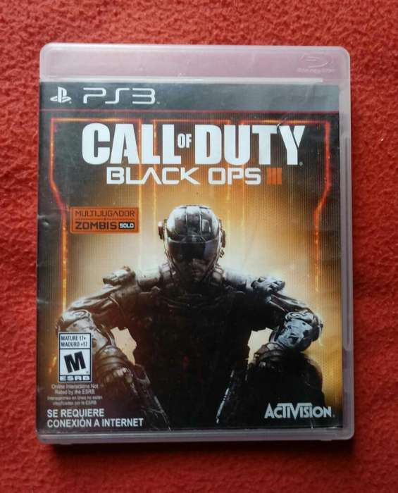 Ps3 Juego Play 3 Cod Black Ops