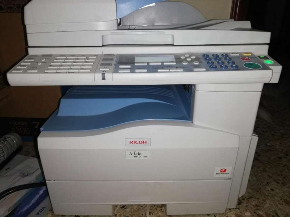 Impresora Ricoh Multifuncion Mp 201 Spf