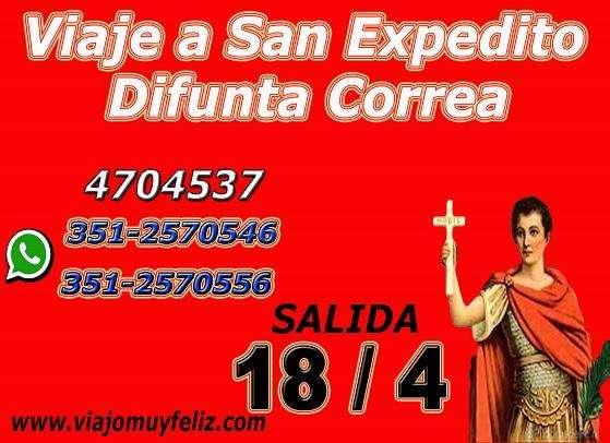 18/4/2019 Peregrinación a San Expedito y Difunta Correa San Juan