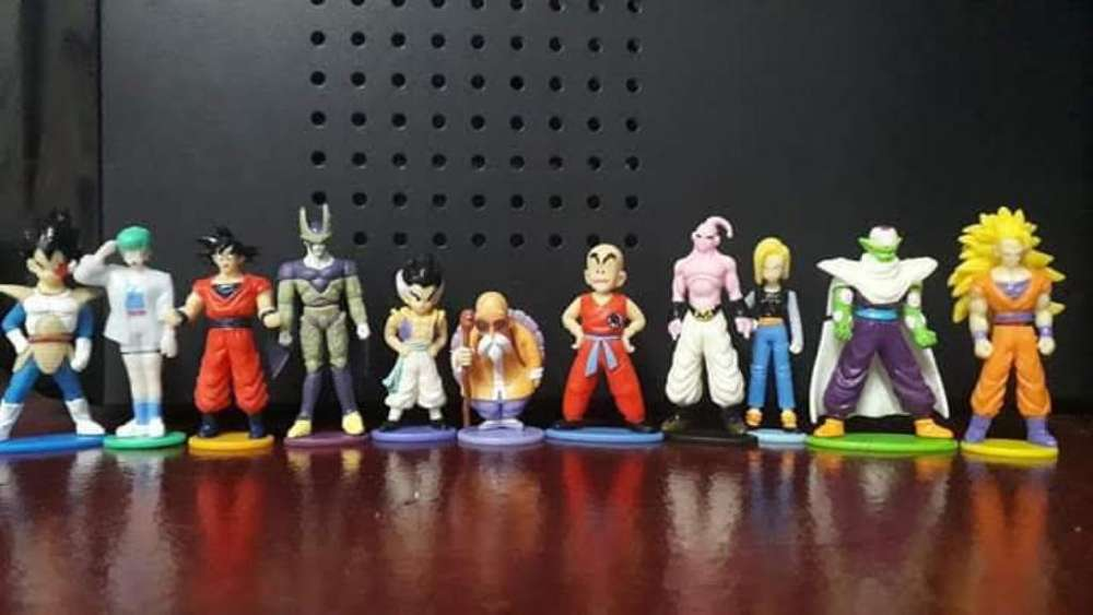 Miniaturas de Dragon Ball 50 Soles Todo