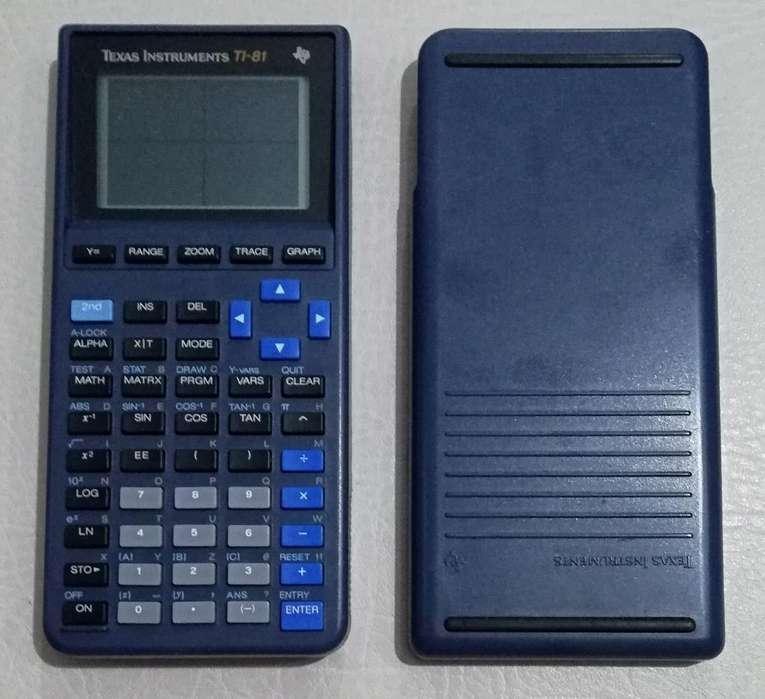 Calculadora Graficadora Texas Ti 81