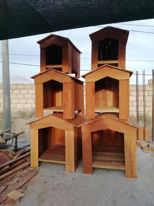 Casas de Perro Y Jaulas