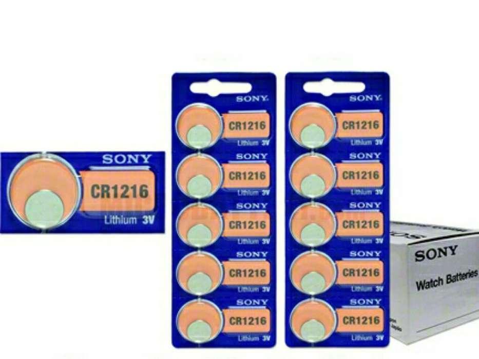 Sony Pila Cr1216 Litio 3v Usd2 X 1u