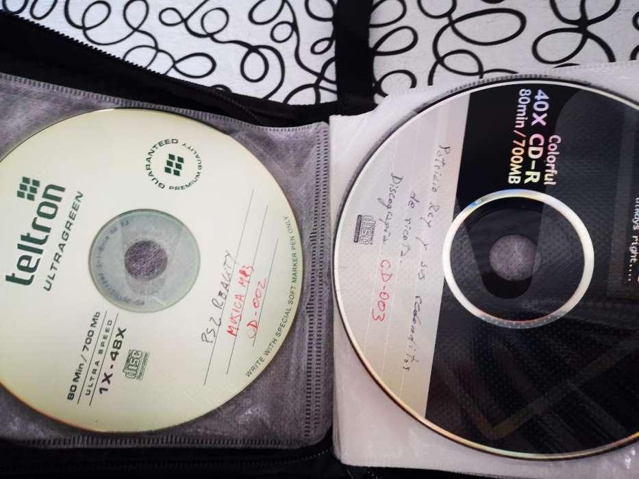 Compilado de Cd Y Dvd con Musica