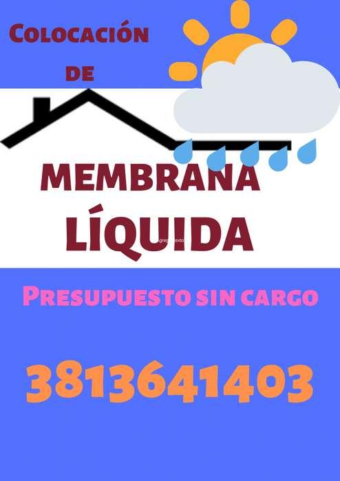 Colocación de membrana líquida