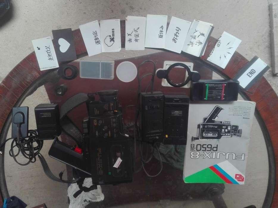 Vendo Camara Filmadora antigua fujix8 p650malograda