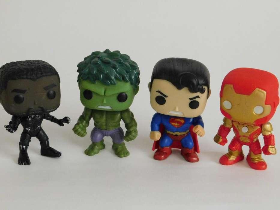 Colección Funkos Super Héroes