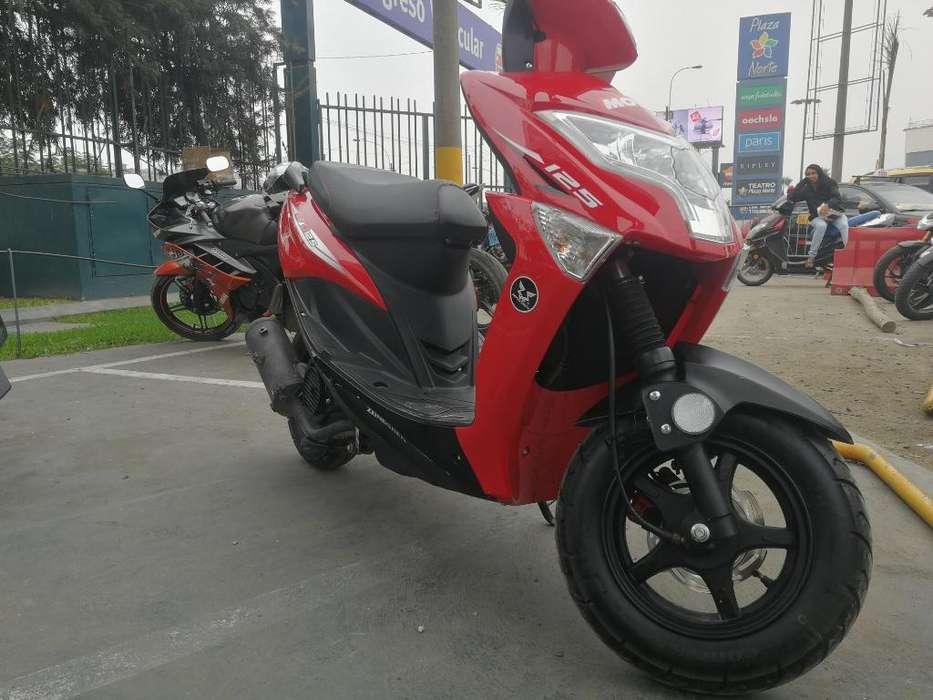 Moto Scooter Zongshen Evo 125