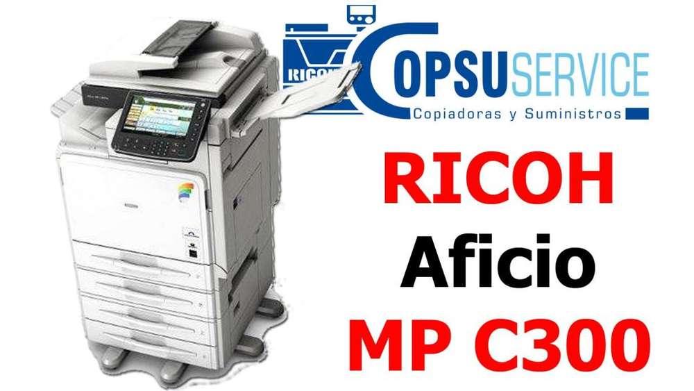 COPIADORA MULTIFUNCIONAL RICO MP C300