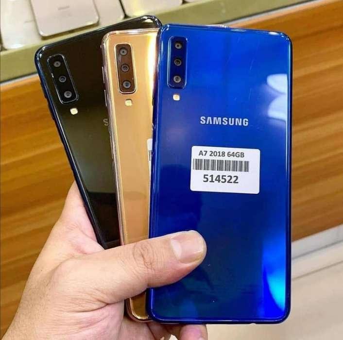 Samsung A7 64GB Nuevos Sellados Garantía