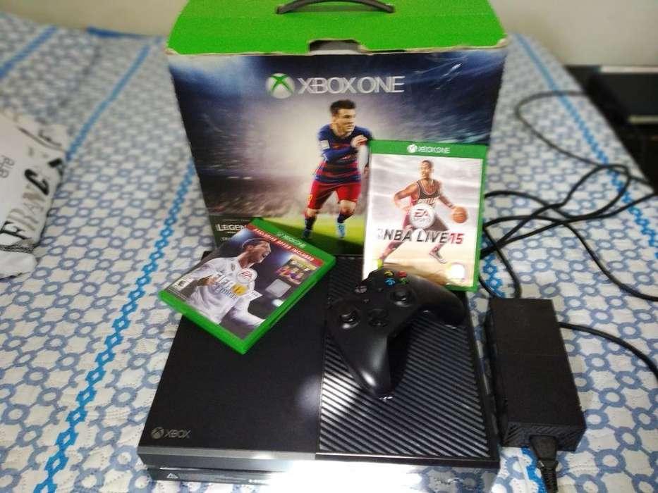 Xbox One 2 Juegos Físico Y 2 en Memoria