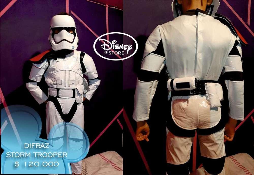 Disfraz Star Wars Rebels Stormtrooper Niño Blanco - Original Disney