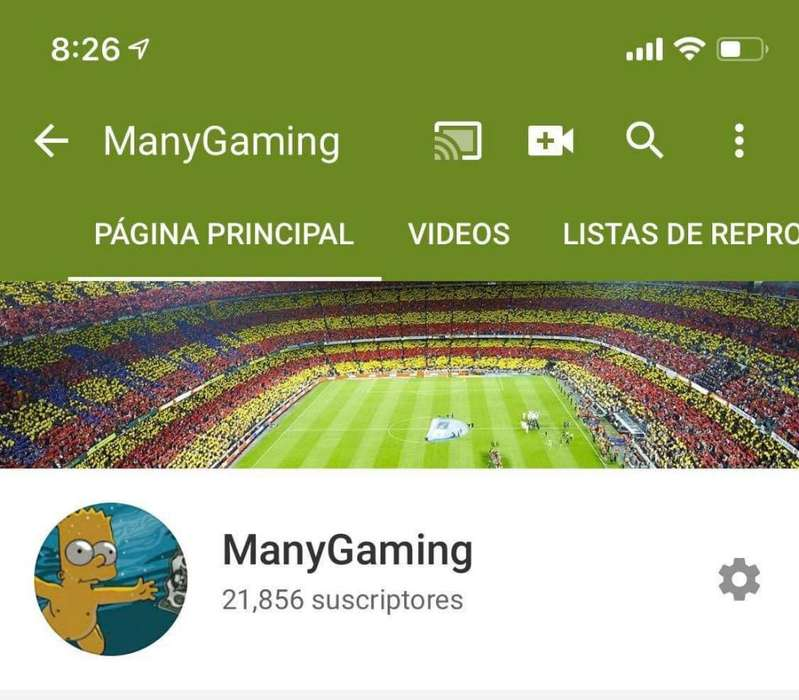 Se Vende Canal de Youtube