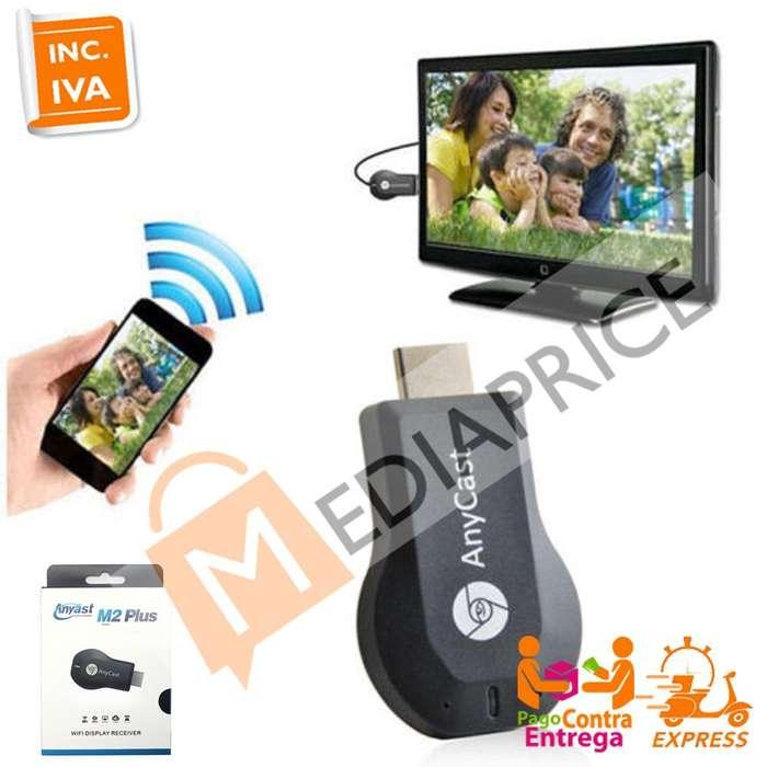 Anycast M2 Receptor Hdmi Wifi Tv Miracast Mirascreen garanti