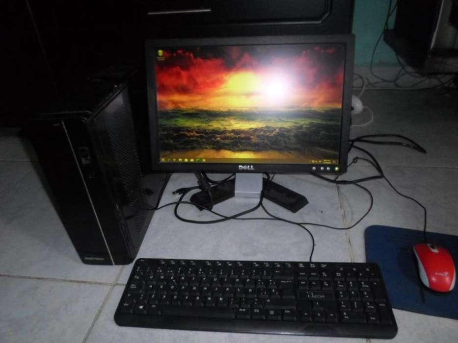 pc completo Procesador Intel Celeron J19004 de ram dr3 500 gb disco duro sata teclado y mause