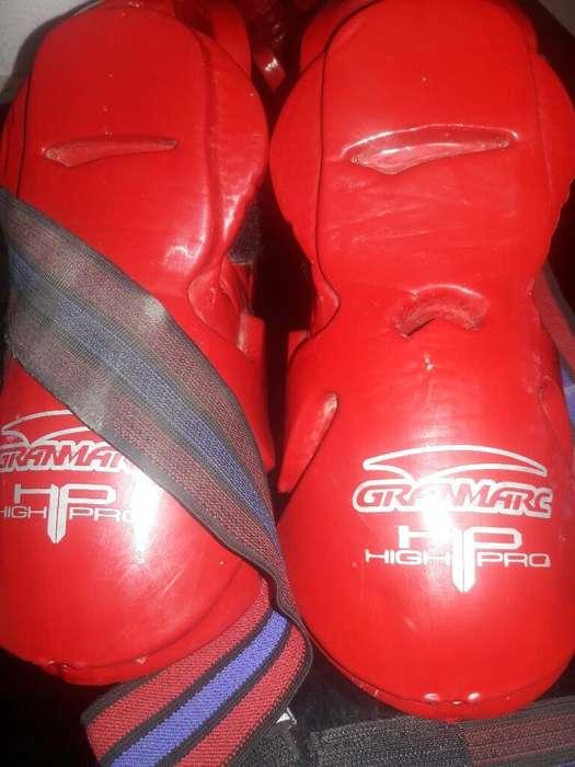 Vendo Protectores de Taekwondo