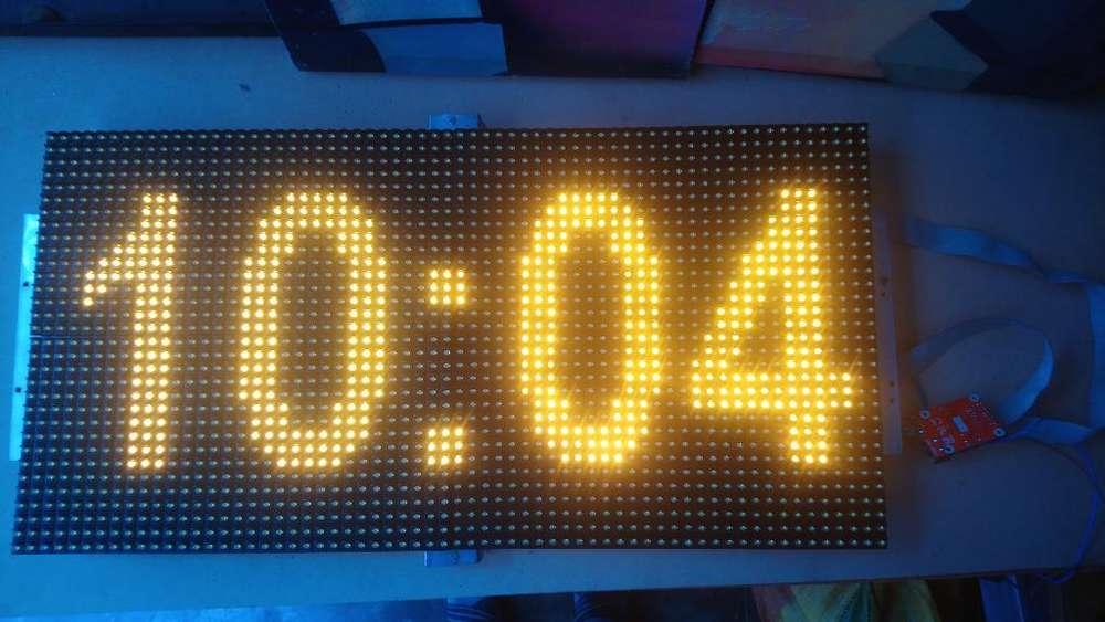 Reloj Led Electrónico 20x64. 938662232