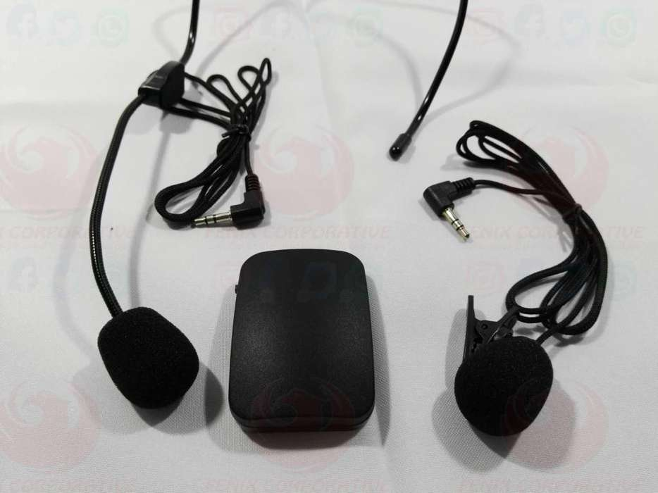 Microfono Inalambrico Solapa Y Clic Transmisor Fm