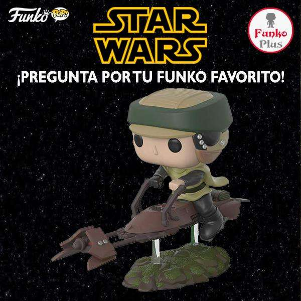 Funko Pop Star Wars Luke Skywalker with Speeder Bike FP