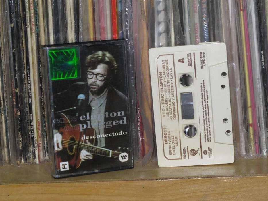 Eric Clapton ?– Desconectado Unplugged Cassette ARG