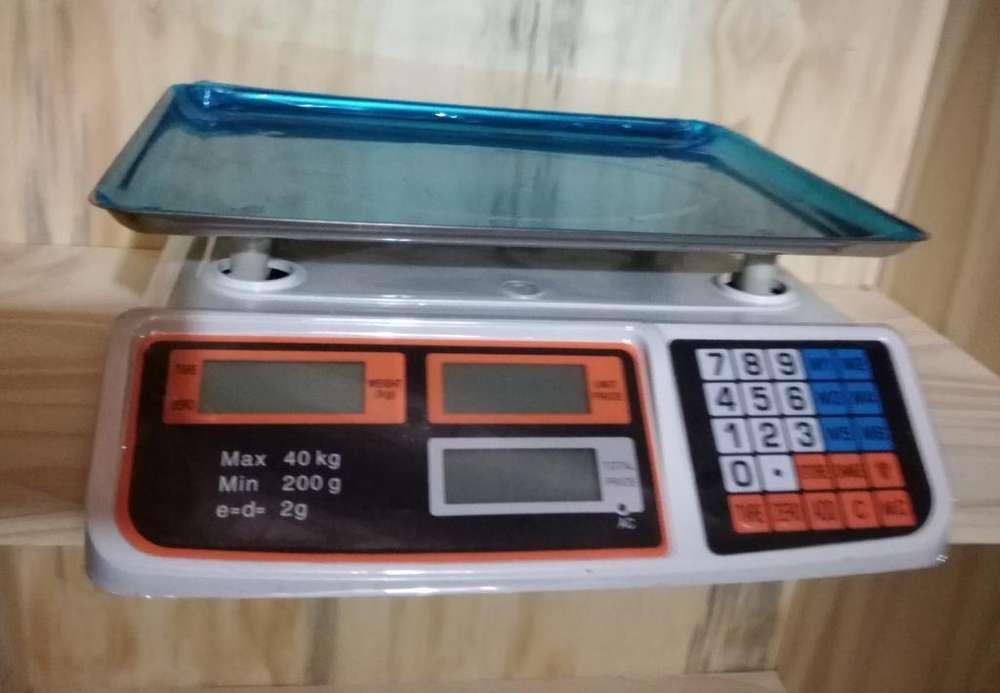 Balanzas Electronicas 40kg Nuevas