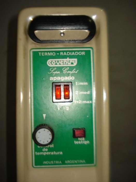 Estufa <strong>radiador</strong> Coventry Super Confort 8 Elementos Excelente