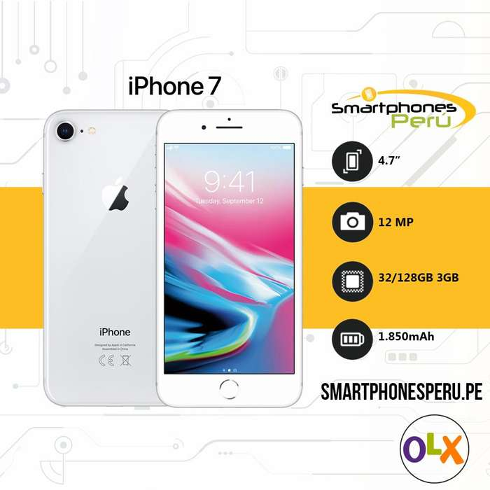 6bf9200b1ef <strong>iphone</strong> 7 32GB / Disponibilidad inmediata / Smartphonesperu
