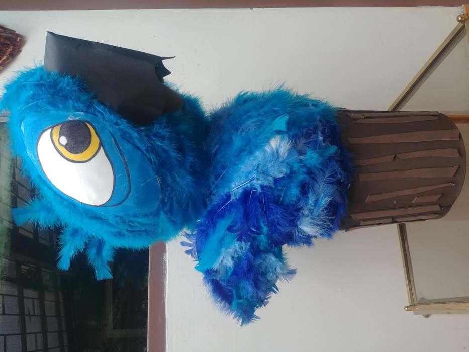 Blue personaje película Rio decorativo para navidad domicilios