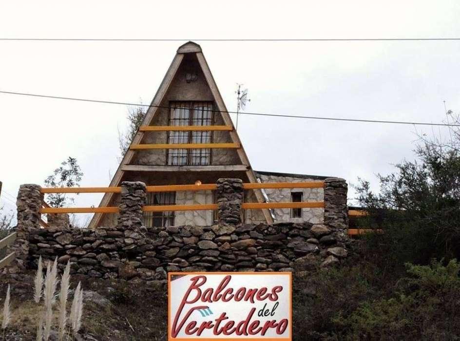 jx18 - Cabaña para 2 a 6 personas con pileta y cochera en El Trapiche