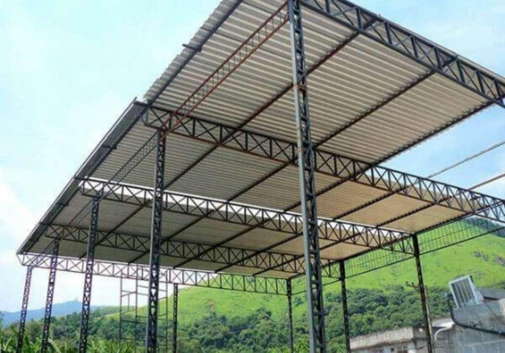 Construcción de Tinglados-galpones