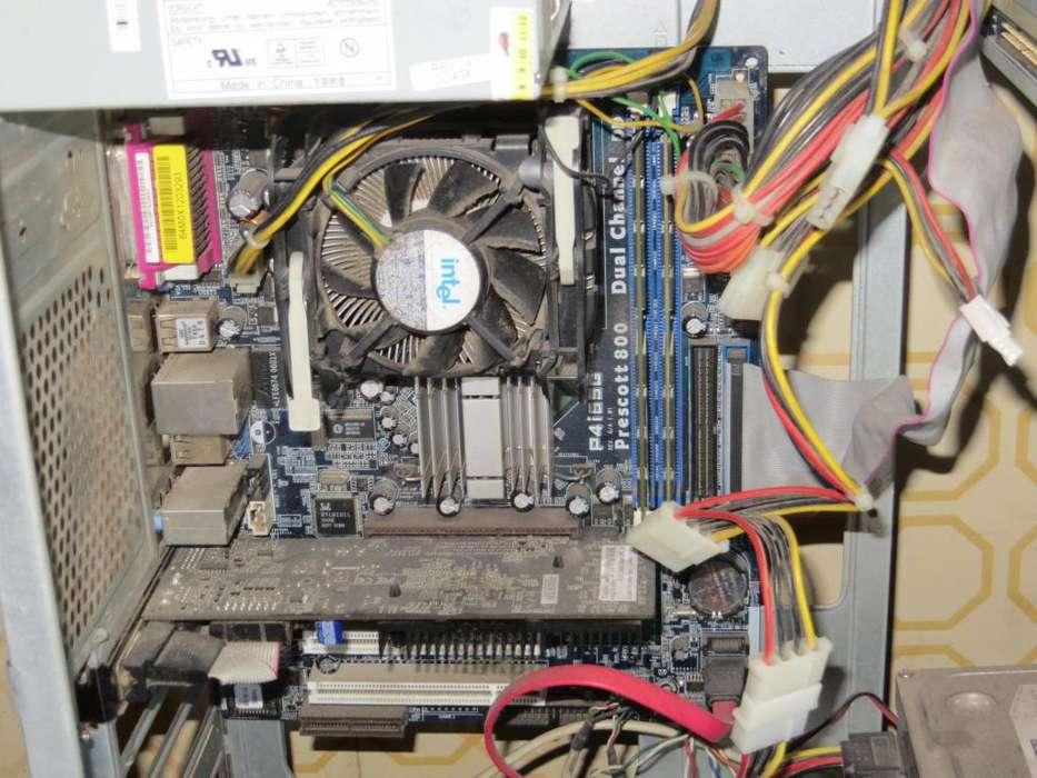 Pentium 4 giga y medio de ram con video