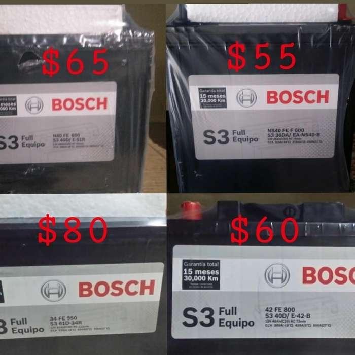 Baterías Bosch Promoción a Domicilio