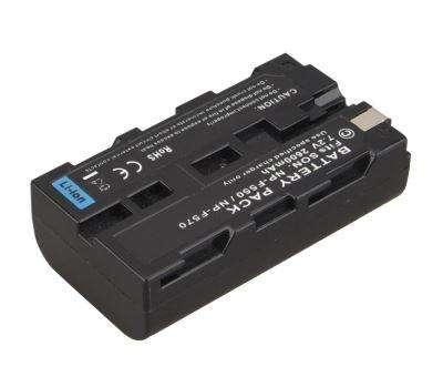 Bateria Litio Camara Sony NPF550 NPF570 2600mah / 7.2V