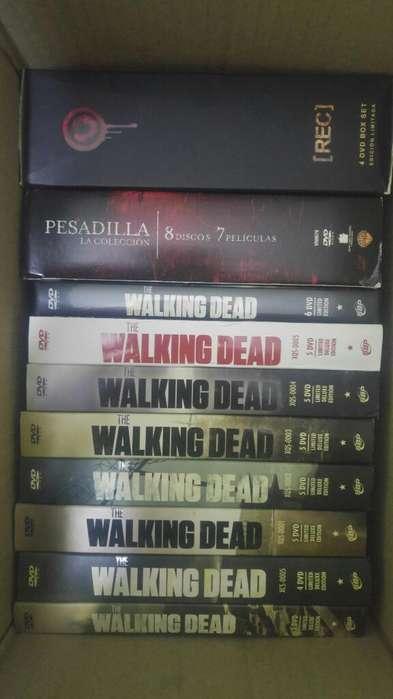 Walking Dead Originales, Peliculas Dvds