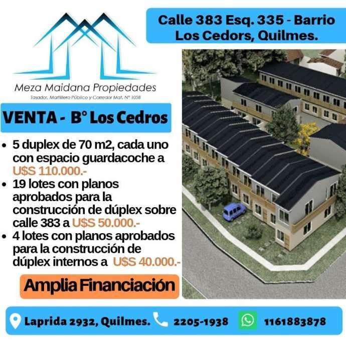 Emprendimiento en venta en Quilmes Oeste