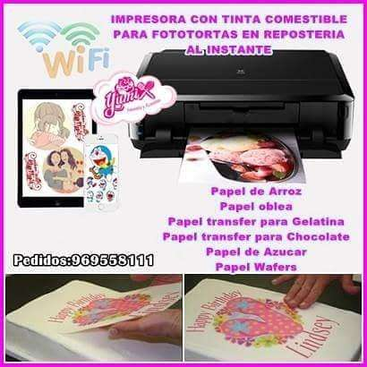 Impresora Comestible Fototorta kit De Inicio Completo