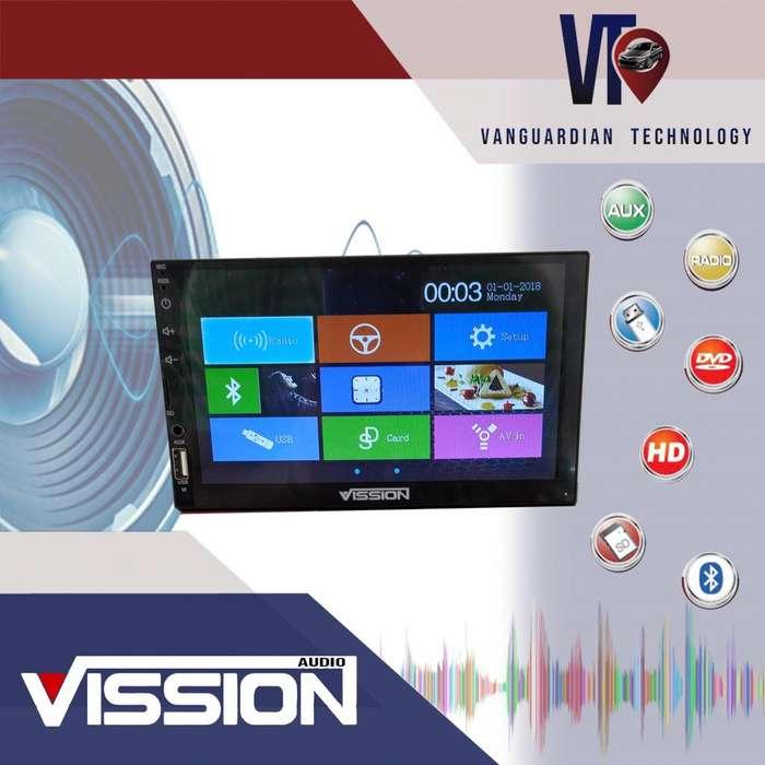 Reproductor mp3-dvd-usb-bluetooth Vission Para Hyundai Mazda Kia Toyota <strong>chevrolet</strong> Nissan
