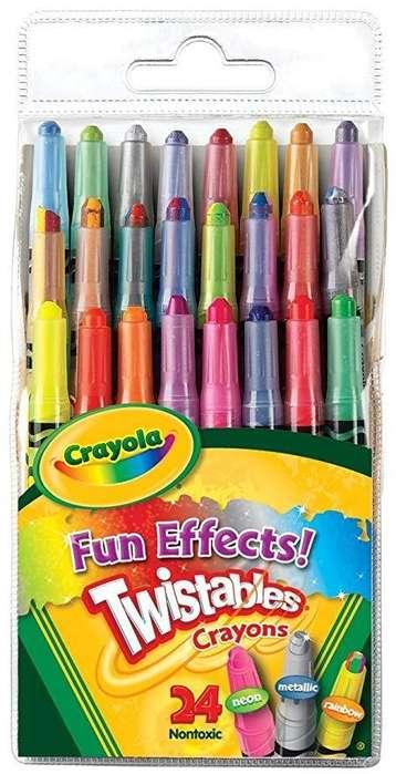 Crayolas retractiles 20.000