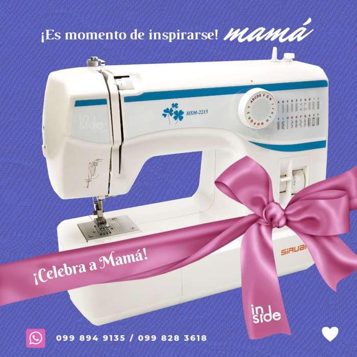 Máquina coser doméstica Siruba