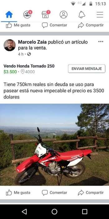 Vendo Tornado 250 Excelente Estado Nueva