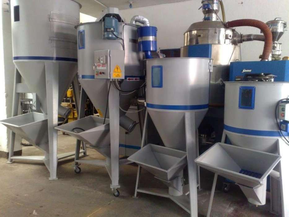 maquinaria para plástico mezcladores