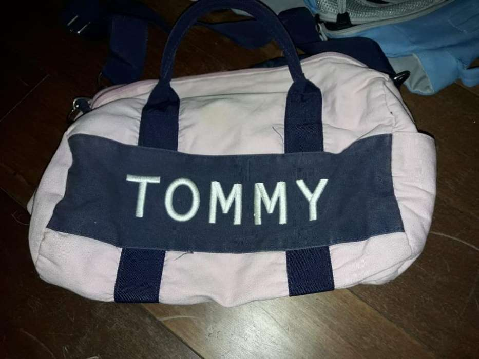 <strong>bolso</strong> Tommy Rosa Y Azul