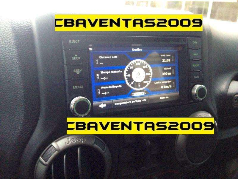 Estereo CENTRAL MULTIMEDIA STEREO PANTALLA <strong>jeep</strong> WRANGLER Gps Android Bluetooth