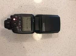 Flash Original Canon Speedlite 600ex-rt II Como Nuevo Wireless