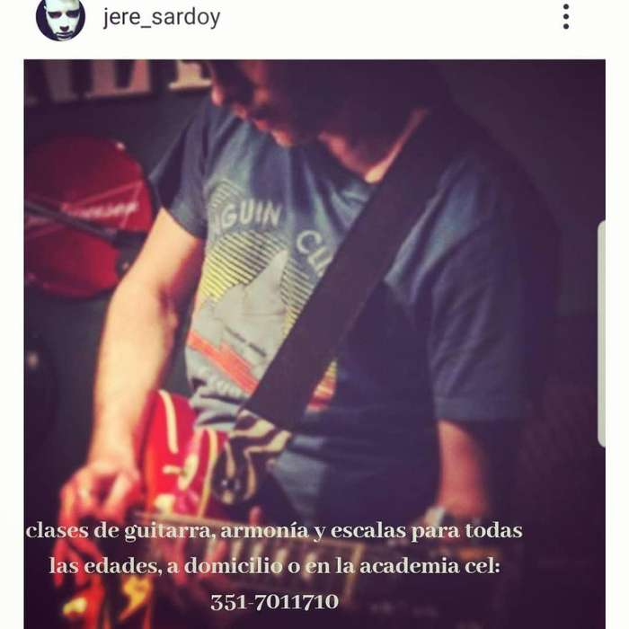 Clases de Guitarra Córdoba