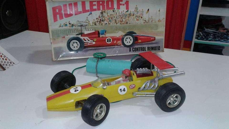 Rullero Formula 1 A Control Remoto De Los 60s Funciona