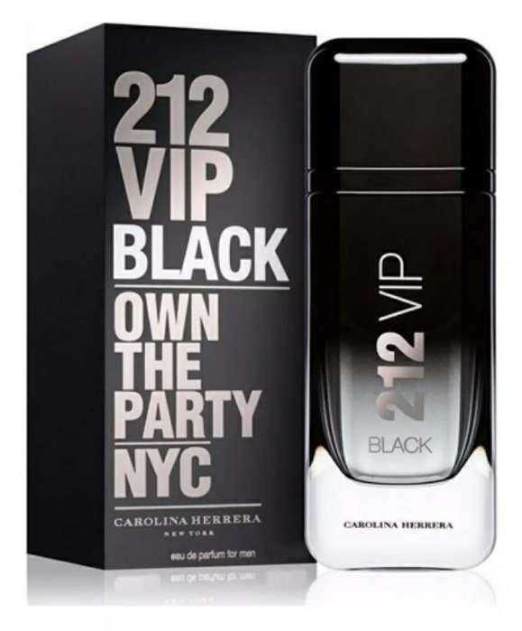 Perfume 212 Vip Black Caballero Original